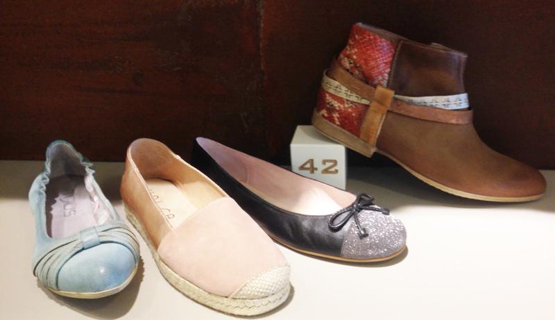 Schuhe in Übergrößen auf